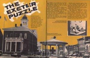 An article on the Exeter sightings in True magazine (1967).